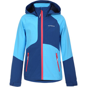 Icepeak Keswick Softshell Jacket Kids, azul/Turquesa